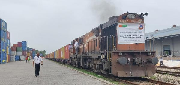 Private Cargo Train Arrives In Birgunj For The First Time