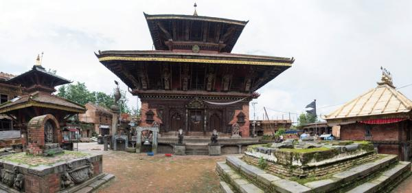 Reconstruction Of 587 Temples Complete